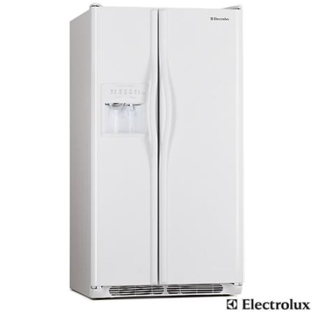 Refrigerador Side By Side 659L Frost Free Branco Electrolux - SS75, 110V, Branco, Acima de 500 litros, 659 Litros, Sim, Sim, Sim, 12 meses, 02 Portas, Side by Side