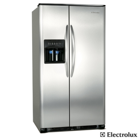 Refrigerador Side by Side 659L Frost Free com Water Dispenser externo e Ice Maker - Electrolux - SS75XFBA189, 110V, Inox, Acima de 500 litros, 659 Litros, 222 Litros, 437 Litros, Sim, Sim, Sim, 12 meses, 02 Portas, Side by Side