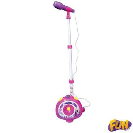 Microfone Karaokê da Barbie – Fun, BQ, ABS, 3 meses