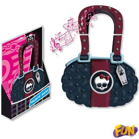 Bolsa Musical Monster High – Fun, BQ, ABS, 03 meses