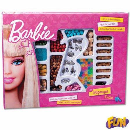 Miçanga Praia Médio da Barbie Barão Toys Fun - 72736, BQ
