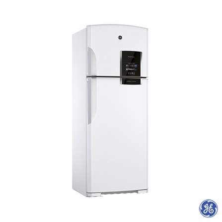 Refrigerador 2 Portas GE 445L Branca RFGE710EDA1BR, 110V, 220V, Branco, De 351 a 500 litros, 02 Portas
