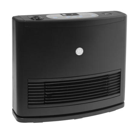 Aquecedor Cerâmico com 3 Níveis de Aquecimento / Controle Digital / Preto - Smart Confort GE - AQGEDCA, 110V, 220V