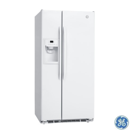 Refrigerador Side by Side 562L Frost Free GE, 110V, Branco, Acima de 500 litros, 562 Litros, 154 Litros, 408 Litros, Sim, Sim, 60 Hz, 12 meses, 02 Portas, Side by Side