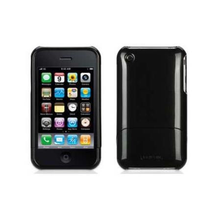Capa Outfit Metalic Preto para iPhone 3G / 3GS - Griffin - GB01356, 24 meses
