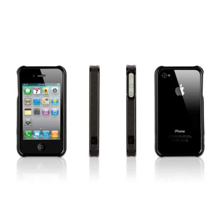 Capa Elan Form Preto para iPhone 4 - Griffin - GB01776, 24 meses