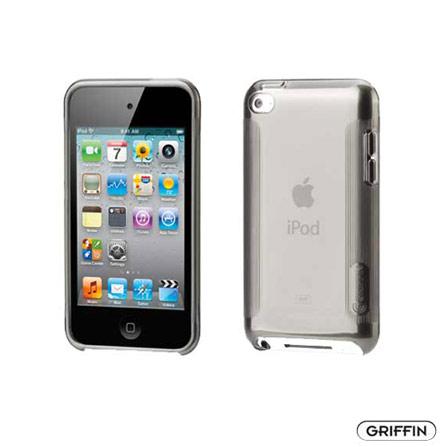 Capa de Policarbonato para iPod Touch 4 - Griffin, Cinza, 12 meses