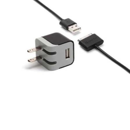 Carregador Compacto de Parede para iPod / iPhone - Preto - Griffin - NA23081, 06 meses