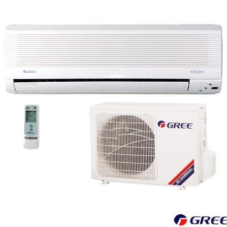 Condicionador de Ar Split Wall 7000Btus / Quente/Frio / Branco - Gree - CJGSW7_22RO, 220V, LA, 7.000 BTUs, Split, 5.000 a 8.500 BTUs