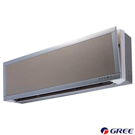Condicionador de Ar Split Ultra Slim 9.000Btus / Frio / Prata e Branco - Gree - CJGSW9_22LEI, LA, 9.000 BTUs, Split, 9.000 a 11.500 BTUs