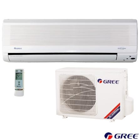 Condicionador de Ar Split Wall 9000BTUs Frio Branco Gree - GSW9_22L, 220V, 9.000 BTUs, Split, 9.000 a 11.500 BTUs