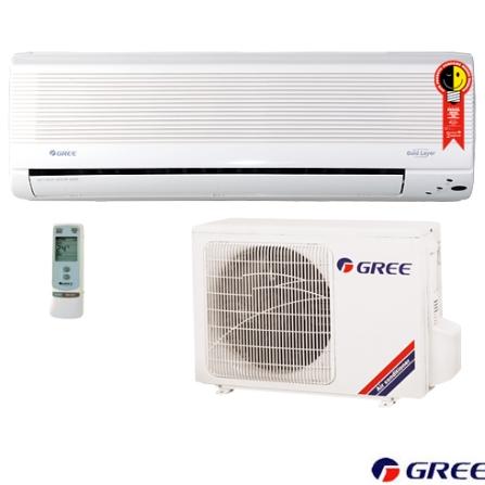 Condicionador de Ar Split Wall 9000Btus Quente/Frio / Branco - Gree - CJGSW9_22RCO, 9.000 a 11.500 BTUs, 9.000 BTUs