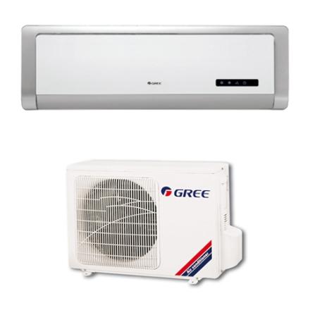 (Aguardando cj) Condicionador de Ar Split Miracle 12000Btus / Eletrônico / Quente / Função Timer / Prata e Branco - Gree, 220V