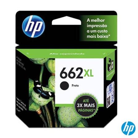 Cartucho de Tinta HP 662XL Preto, Cartuchos
