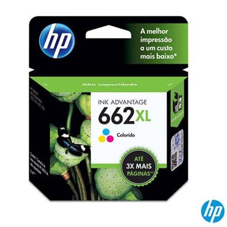 Cartucho de Tinta HP 662XL Tricolor, Cartuchos