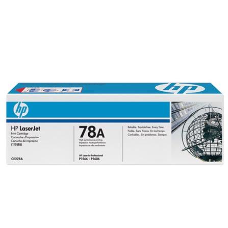 Cartucho de Toner HP 78A Preto, para HP LaserJet P1606