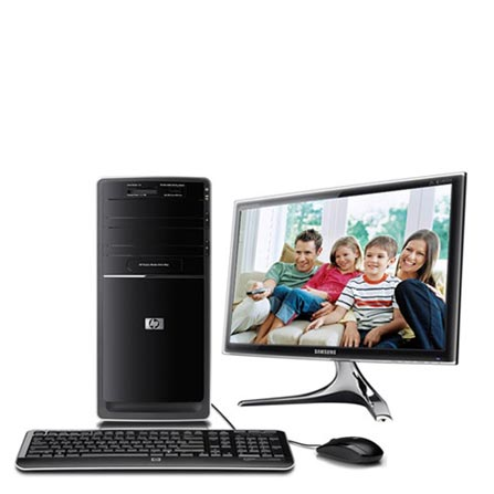 Computador Pavillion P6660BR com Processador Intel Core i5 750/ 4GB / 1TB / 1 HDMI / Windows 7 Home Premium 64 Bits – HP