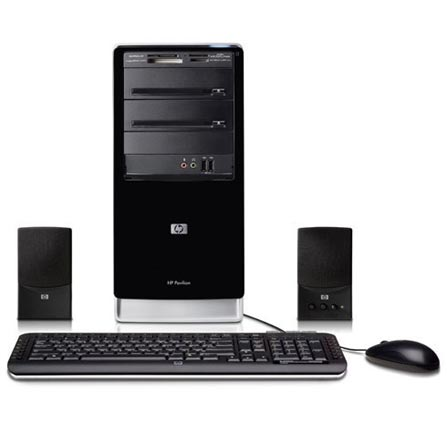 Computador Pavillion A6740BR com Processador Intel® Core2 Quad Q8200 / 4GB / HD 320GB / DVD-RW (Lightscribe) / Windows®
