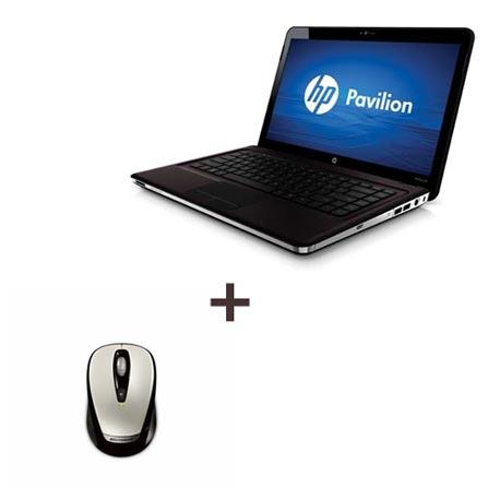 Notebook Pavilion Processador AMD Athlon II Dual-Core P320 / 3GB / 320GB / Tela 14.5