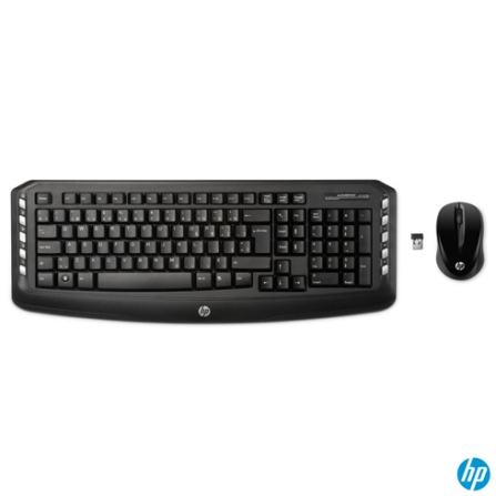 Kit Wireless com Teclado e Mouse HP LV290AA