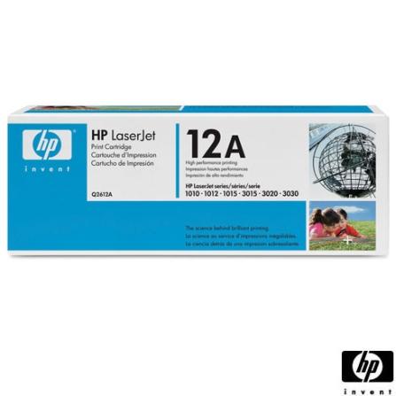 Toner de Tinta Preto para Impressora Monocromáticas HP LaserJet M1005 MFP/ 1010/ 1015/ 1018/ 1020/ 1022/ 3015/ 3020/ 303