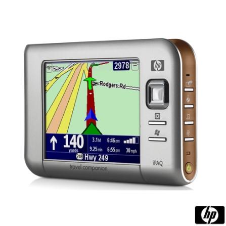 Navegador GPS IPAQ com Windows Mobile® 5.0 para Pocket PC / Tela: 3,5 Pol. - HP - RX5710GPS