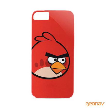 Capa para iPhone 5 Angry Birds Classic Vermelho, Vermelho, 03 meses