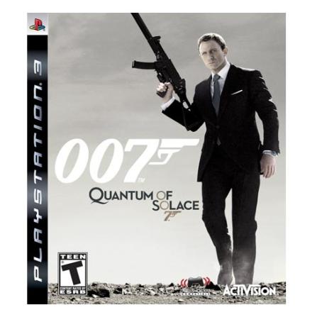 Jogo 007 Quantum of Solace para PS3 - Activision - 007QUANTUMSO