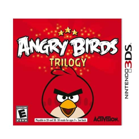 Jogo Angry Birds Trilogy para 3DS - Activision - 3DANGRYBIRDS