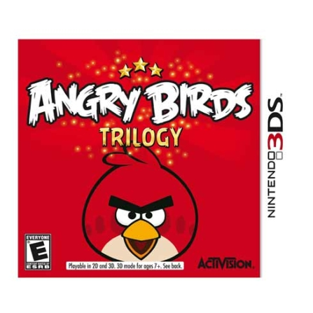 Gamecard 3DS Angry Birds Trilogy - Activision - 3DGCANGRYBIR