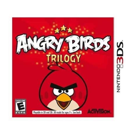 Jogo Angry Birds Trilogy para 3DS