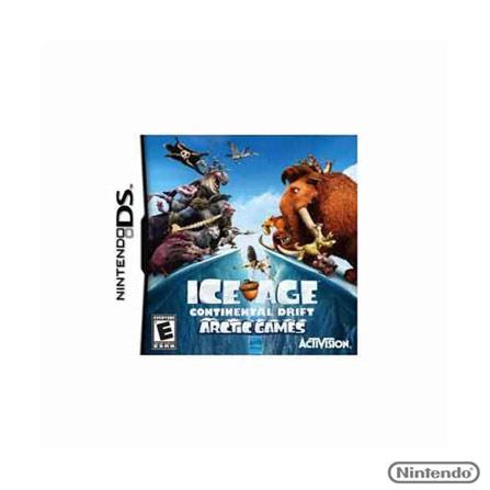 Jogo Ice Age: Continental Drift Arctic para Nintendo DS, Nintendo DSi/DS, Aventura, Game Card, 12 anos, Não especificado, Não especificado, 03 meses