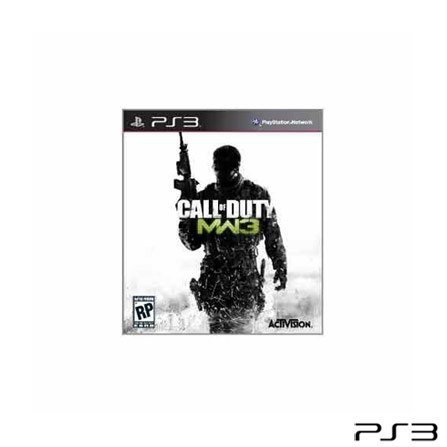Jogo Call of Duty Modern para PlayStation 3, PlayStation 3, Shooter, Blu-ray, 18 anos, Não especificado, Não especificado, 03 meses