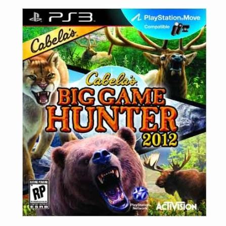 Jogo Cabela's Big Game Hunter 2012 para  PS3