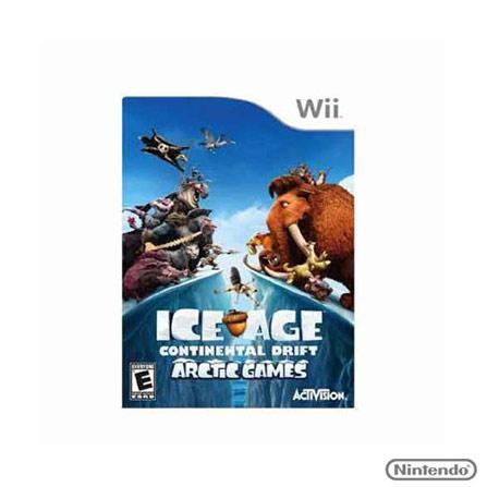 Jogo Ice Age:Continental Drift Arctic para Nintendo Wii, Nintendo Wii, Aventura, DVD, 12 anos, Não especificado, Não especificado, 03 meses