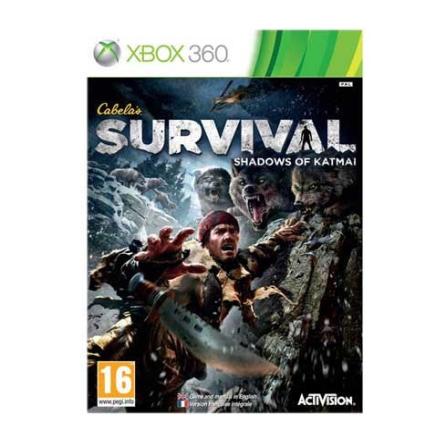Jogo Cabela's Survival Adventures para XBOX 360 - XBOXCABELAK