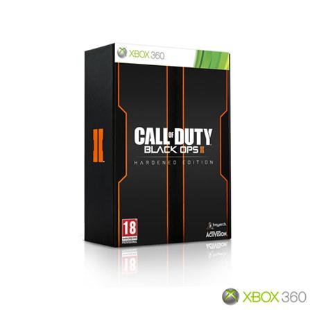 Jogo Call Of Duty: Black Ops II (Hardened Edition) para XBOX 360, Xbox 360, Shooter, DVD, 18 anos, Inglês, Não especificado, 03 meses