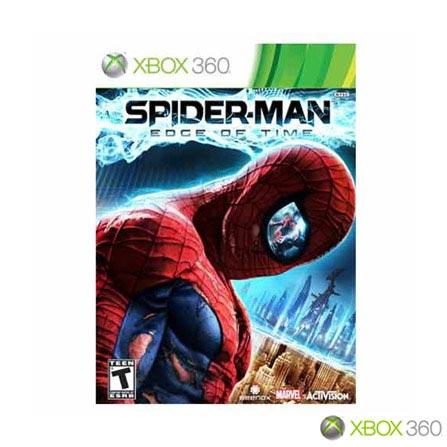Jogo Spider Man : The Edge of Time para Xbox 360, GM, Aventura, Aventura, Xbox 360