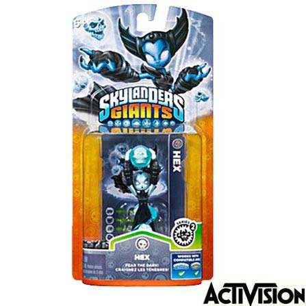 Boneco Skylanders Giants Hex Lightcore - Activision