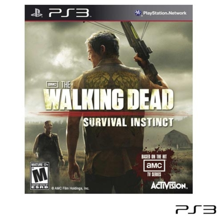Jogo The Walking Dead: Survival Instinct para PS3