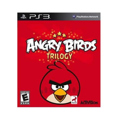 Jogo Angry Birds Trilogy para PS3, GM