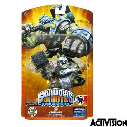 Boneco Skylanders  Giants Crusher  - Activision