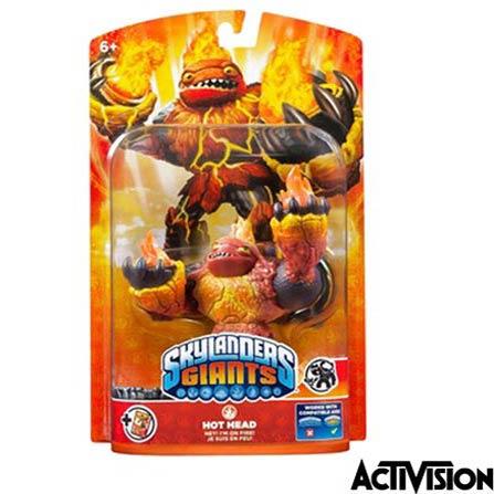 Boneco Skylanders  Giants Hot Head  - Activision