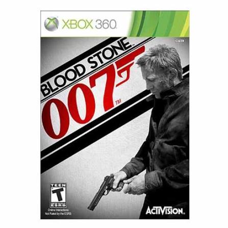 Jogo James Bond 007 Blood Stone para XBOX 360 -