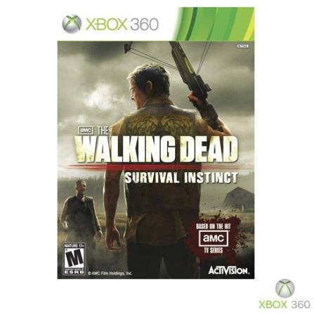 Jogo The Walking Dead: Survival Instinct para XBOX 360