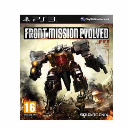 Jogo Front Mission Evolved para PS3 - FRONTMISSION