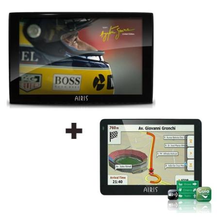Navegador GPS Ayrton Senna + Navegador GPS E350