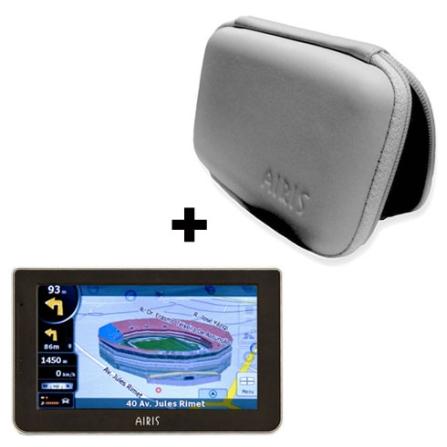 Navegador GPS T945B com Bluetooth Airis