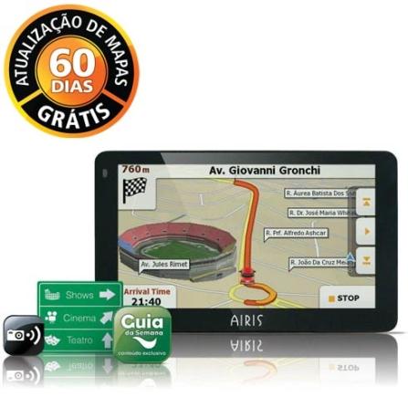 GPS Tela 4.3