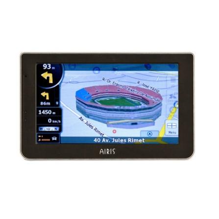 (IFGPST945B) Navegador GPS T945B com Bluetooth / 1261 Cidades Navegáveis / Mapas e Pontos Turísticos em 3D / Tela Touch